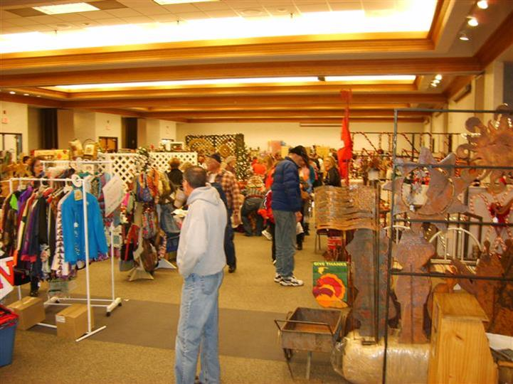 craft fair in the Gering Civic Center