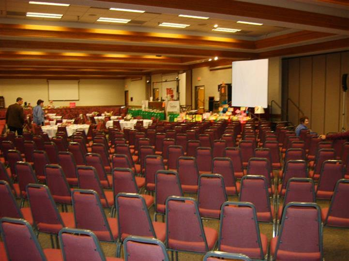 auditorium seating in Gering Civic Center