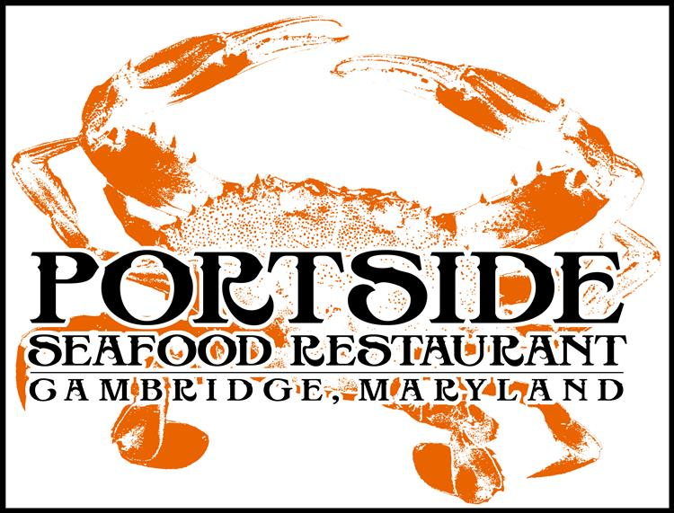 Portside seafood restaurant. Cambridge, MD