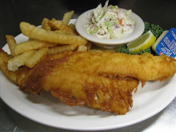 Fried Haddock