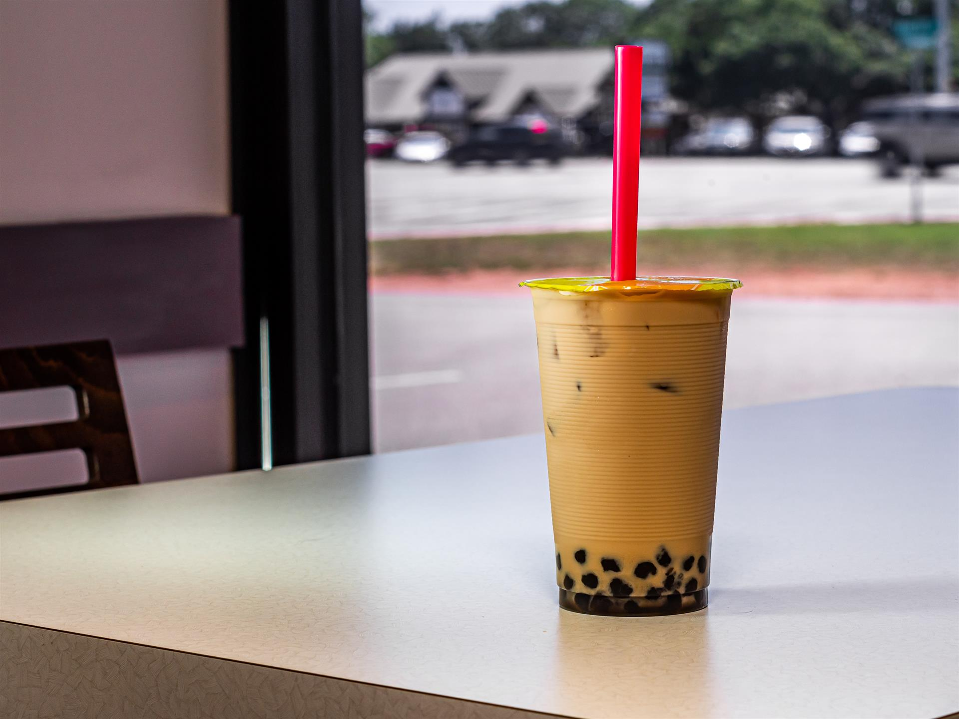 Milk Tea Bubble Tea