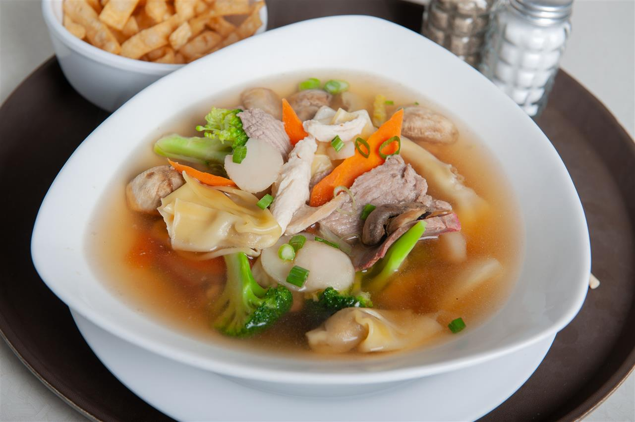 Special Wonton Soup for 2