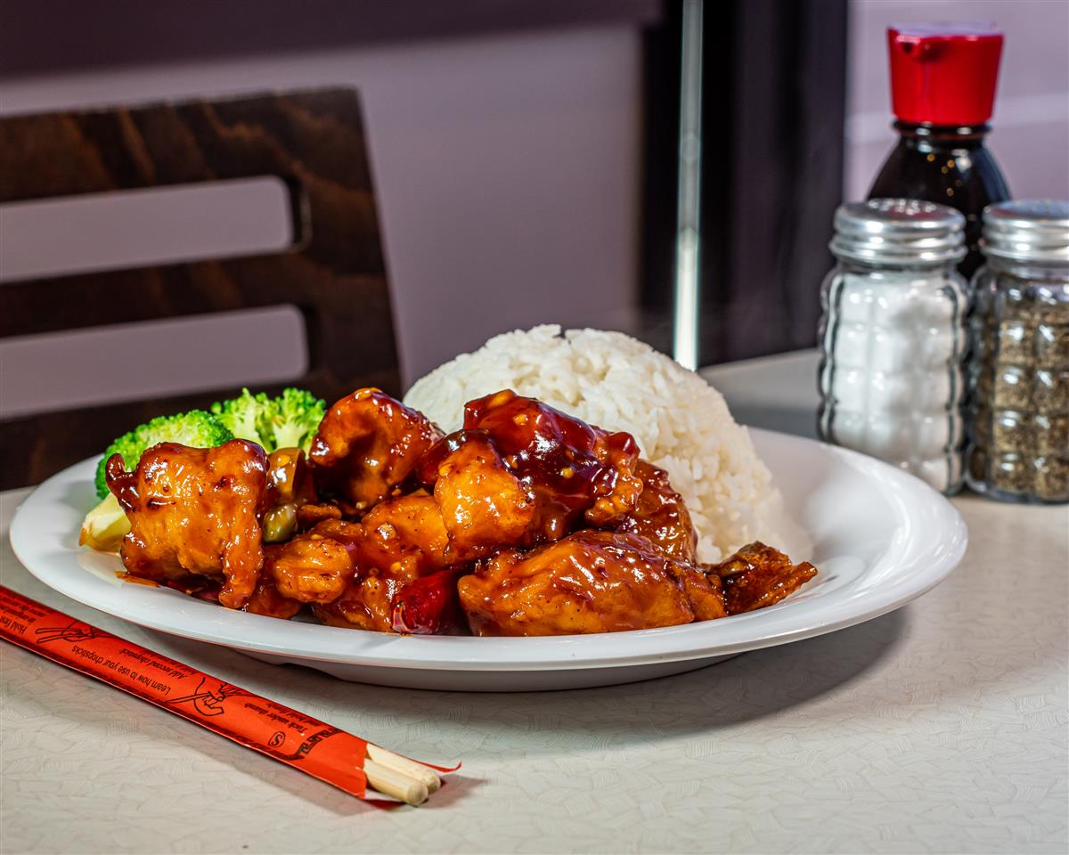Orange Chicken 🍊🌶️