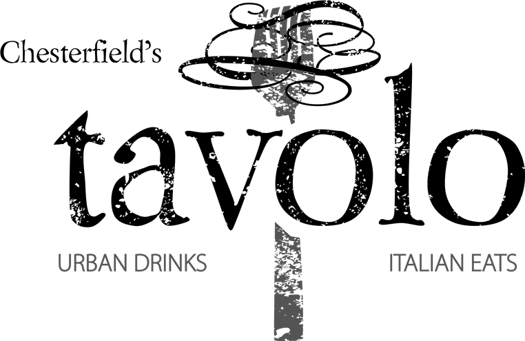 Chesterfield's tavolo Urban Drinks, Italian Eats