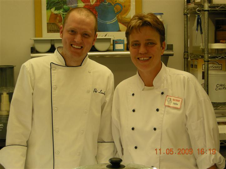 2 Chefs smiling