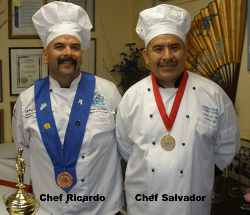 Chef RIcardo and Chef Salvador