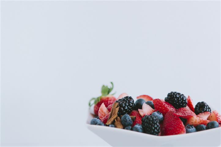 Berries in bowl