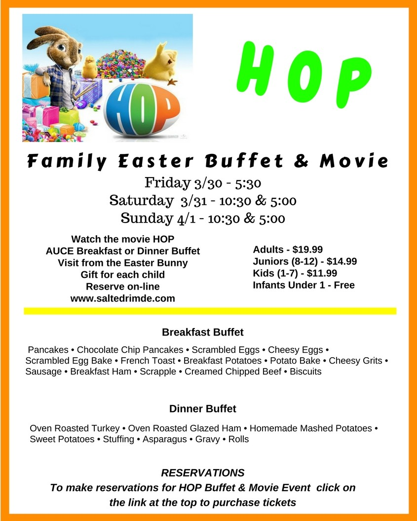 The salted rim hop easter click to purchase tickets for hop buffet movie negle Image collections