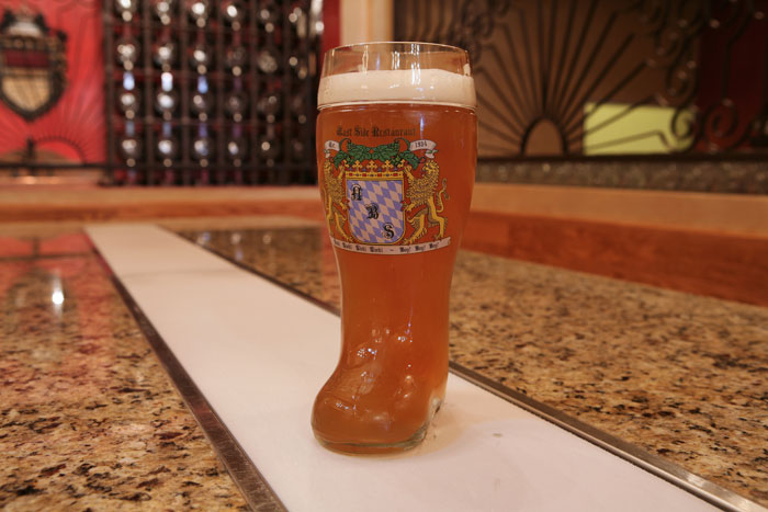 beer in a boot