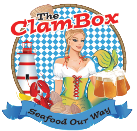 The Clam Box. Seafood Our Way.