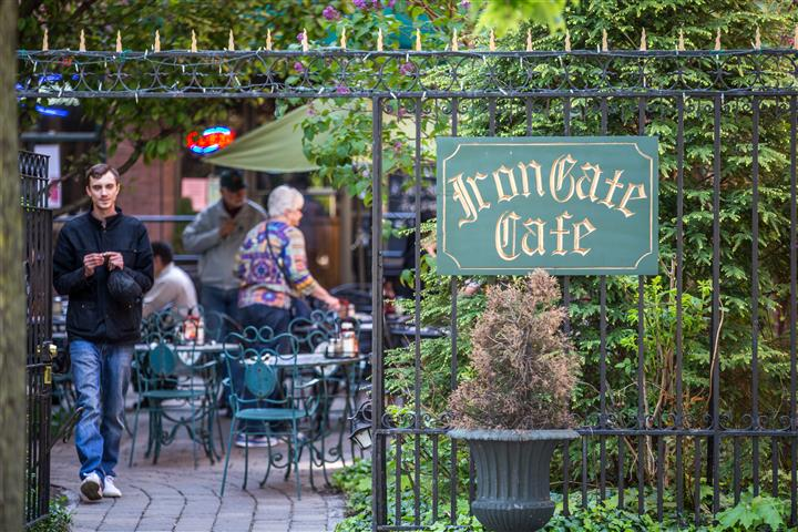 Iron Gate Cafe entrance