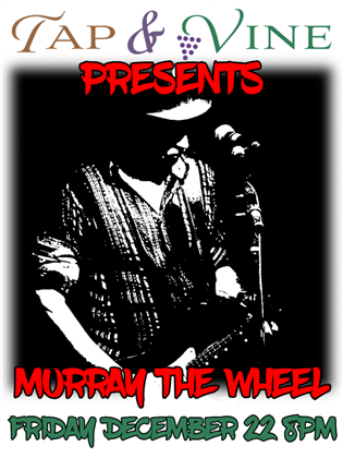 Murray the Wheel Event Flyer