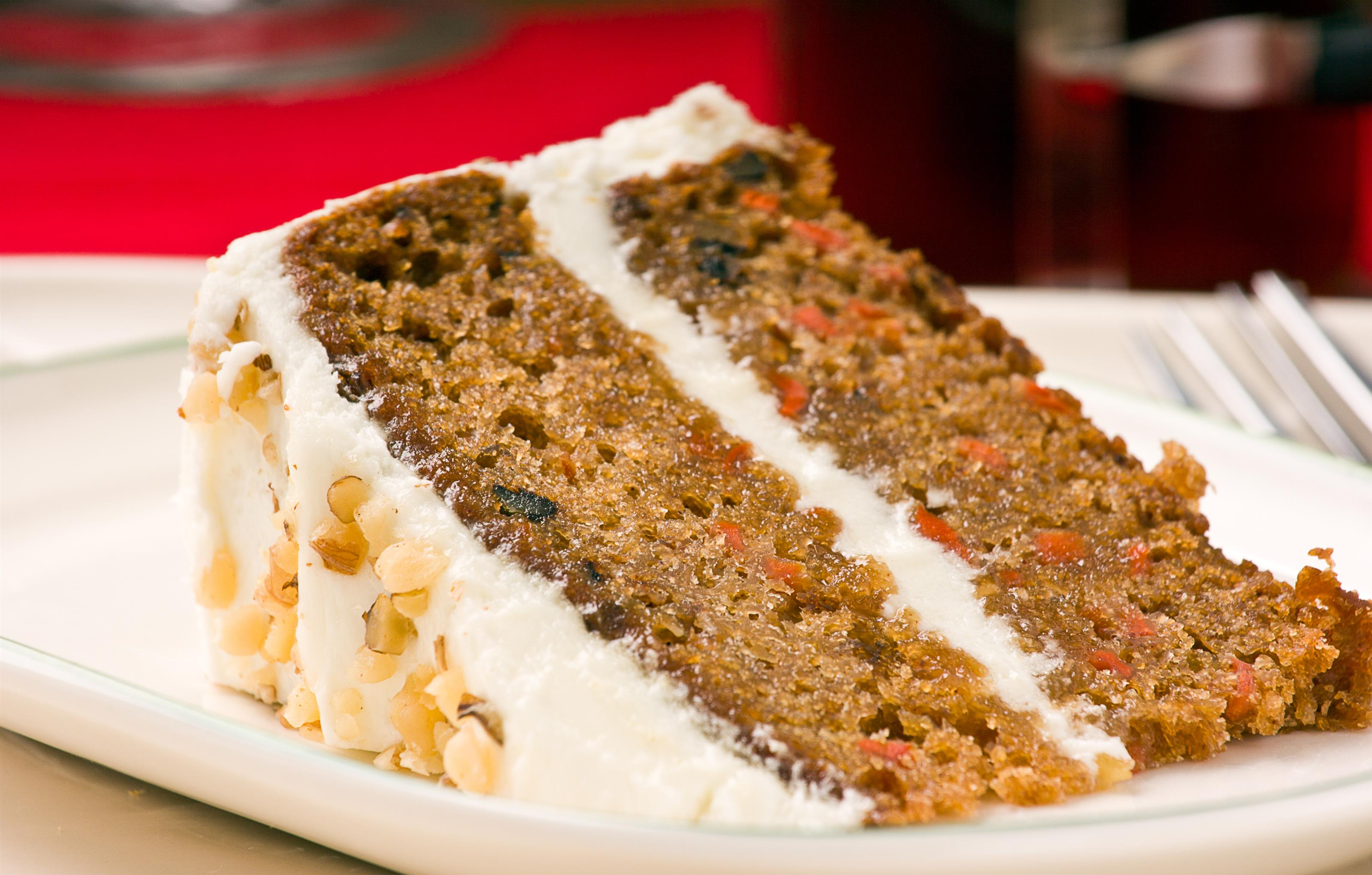 Tea for Two - Slice of Carrot Cake
