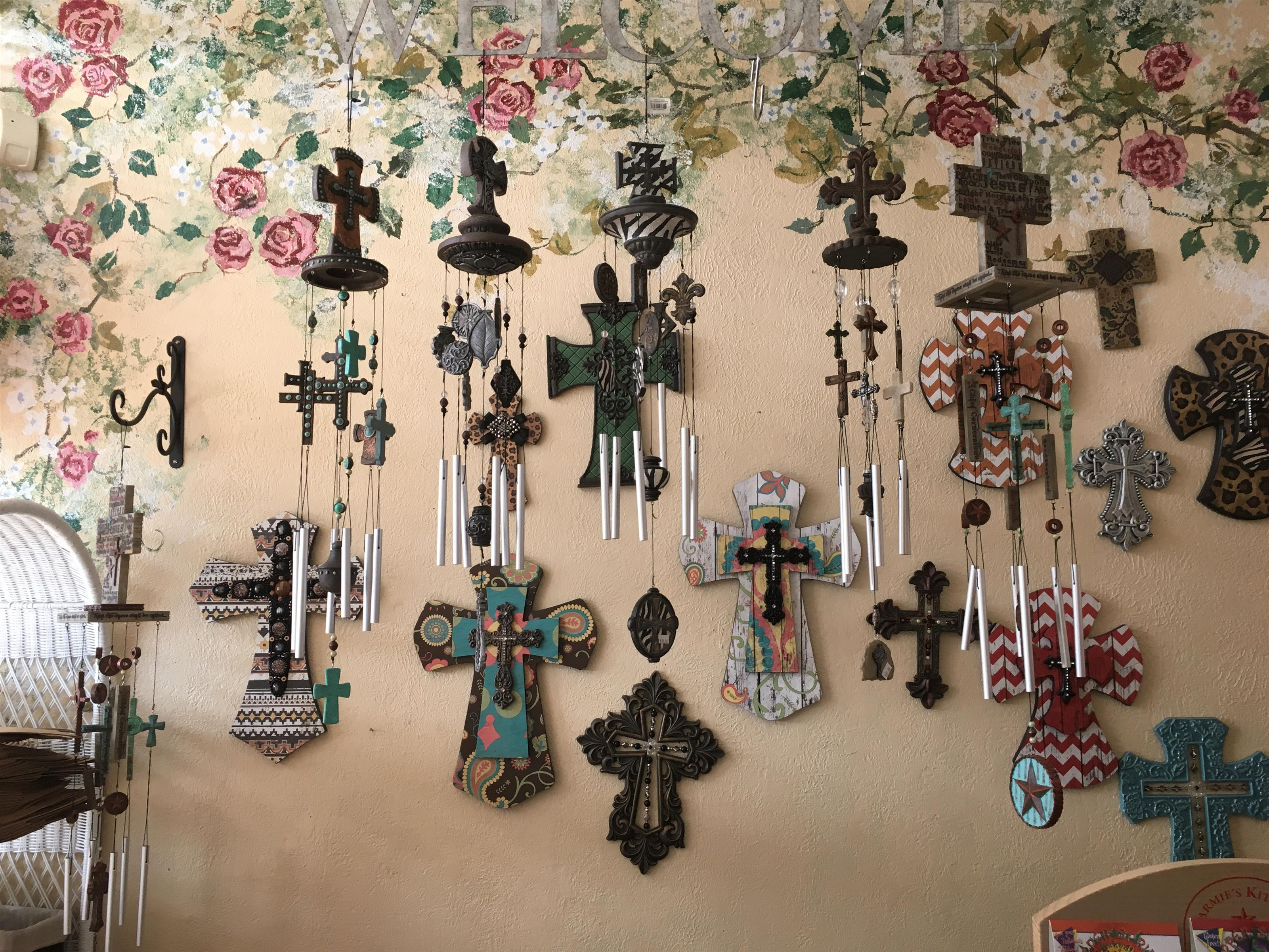 Wall of Crosses - Interior Decor