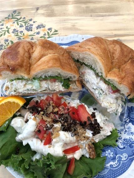 House Chicken Salad on Croissant