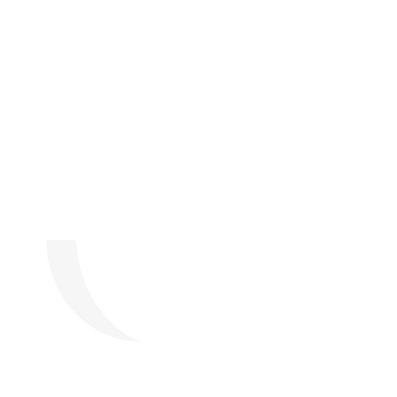 coffee icon with steam rising