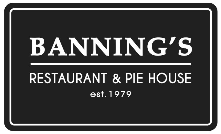 Banning's Restaurant and Pie House est. 1979