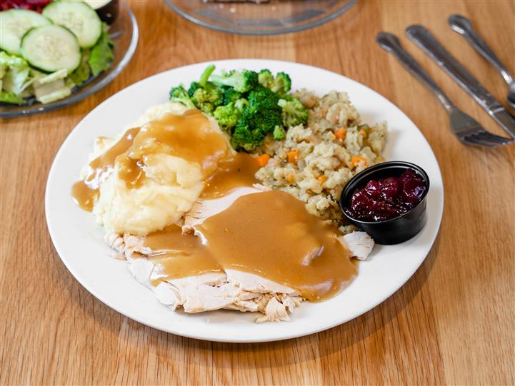 Banning's House Special Turkey Dinner