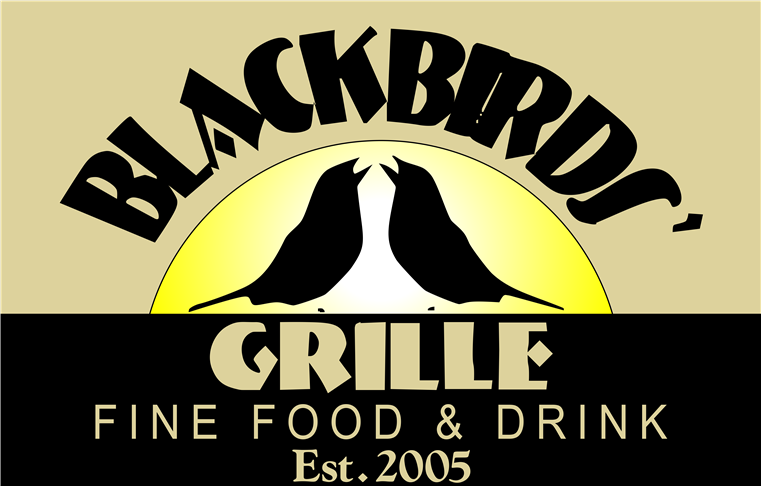 Blackbirds' Grille. Fine food and drink. Established 2005.