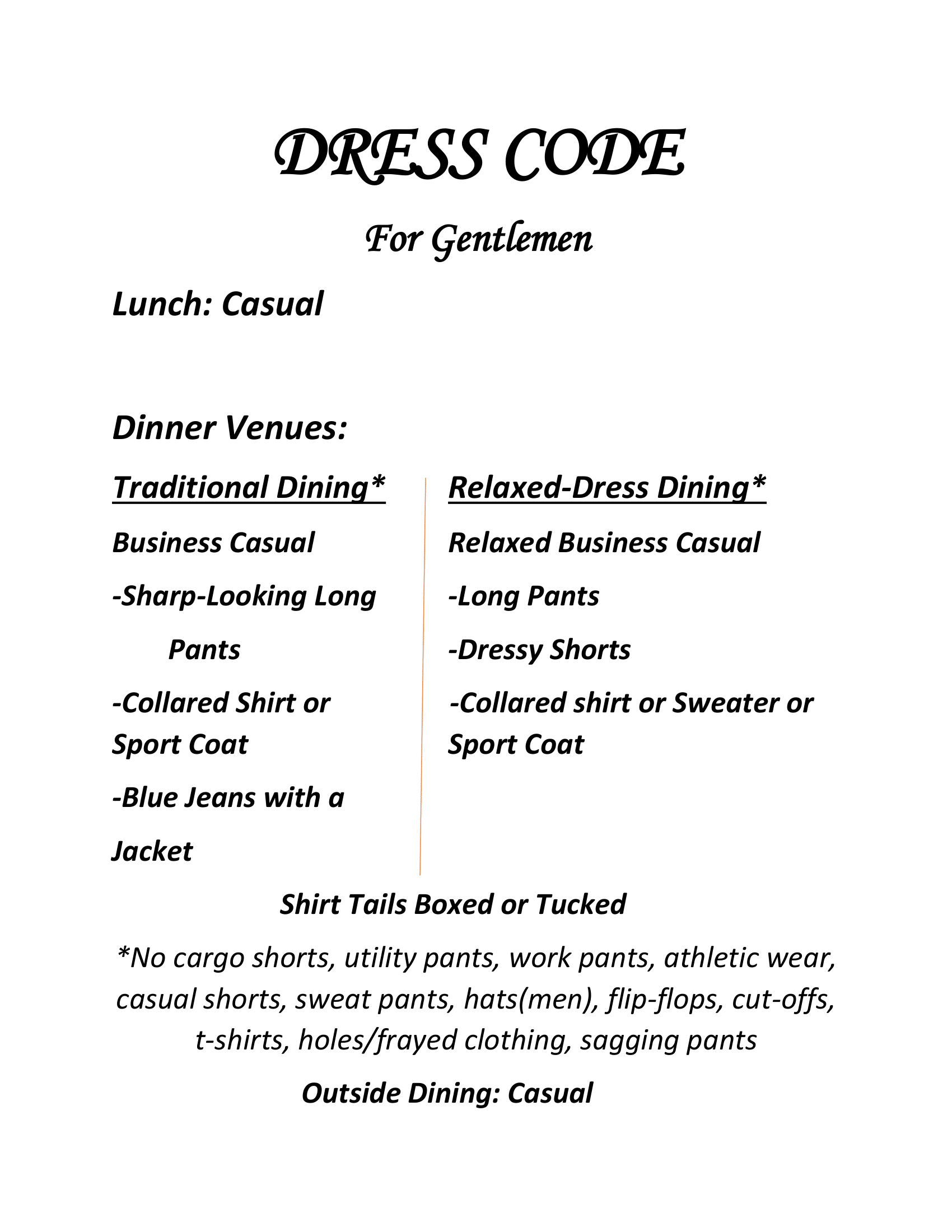 Dress Code. Readable PDF available via button.
