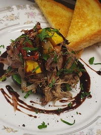 Pulled pork entree