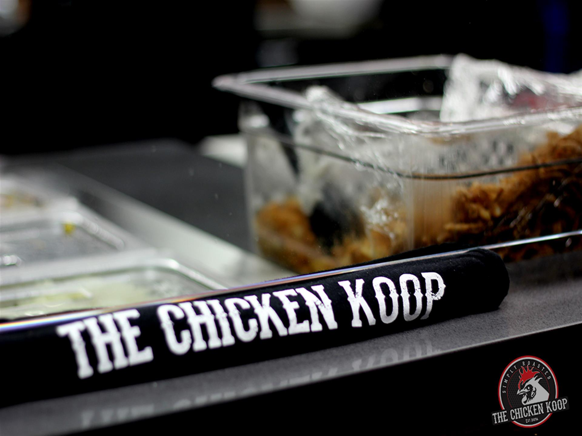 The Chicken Koop food preparation station