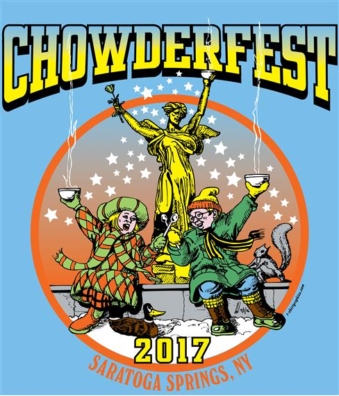 Chowder fest 2017.  Saratoga springs, new york.