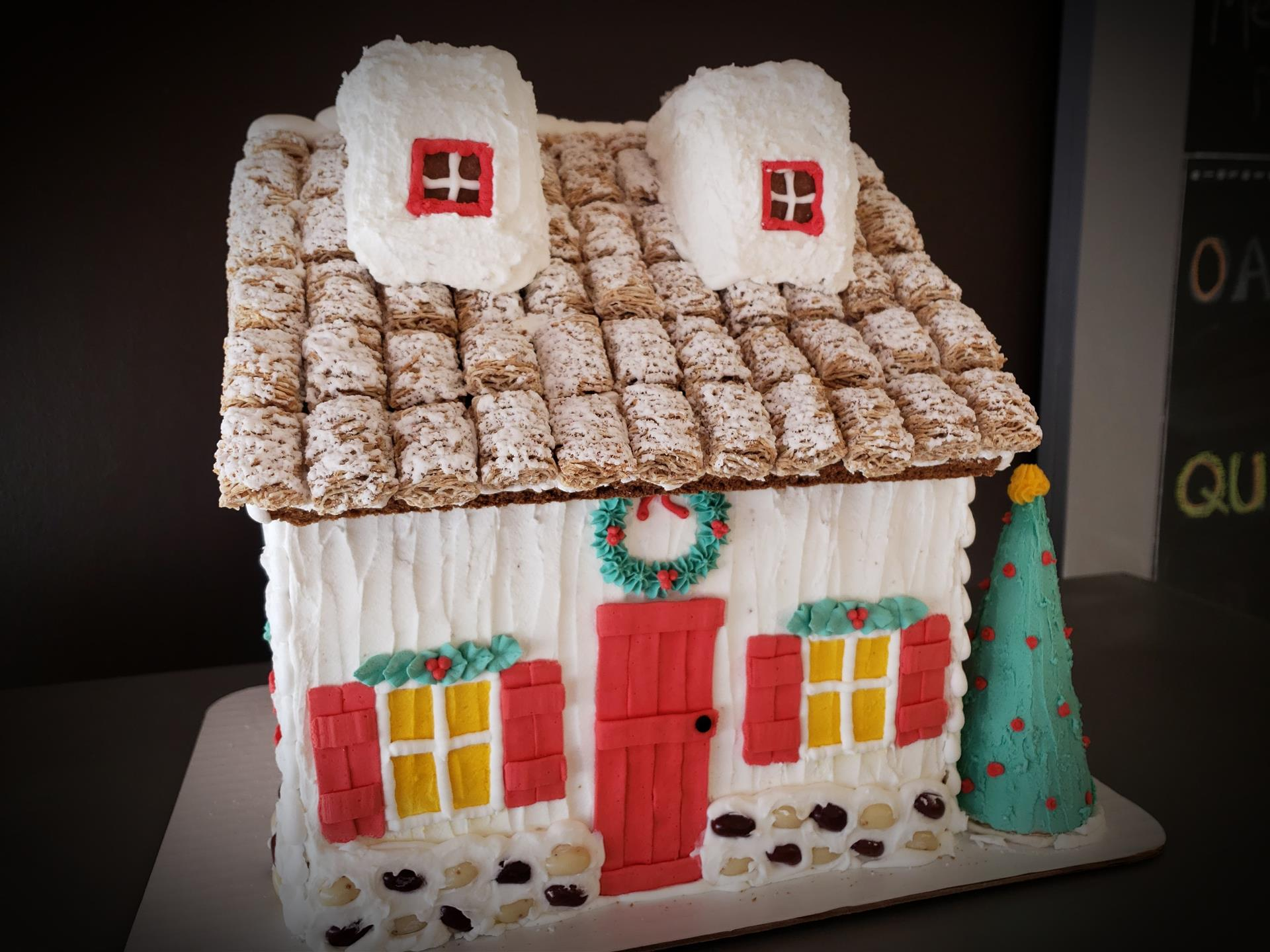 2019 Gingerbread house