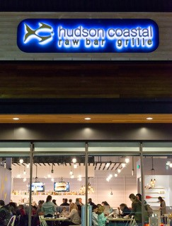 front view of hudson coastal raw bar and grille