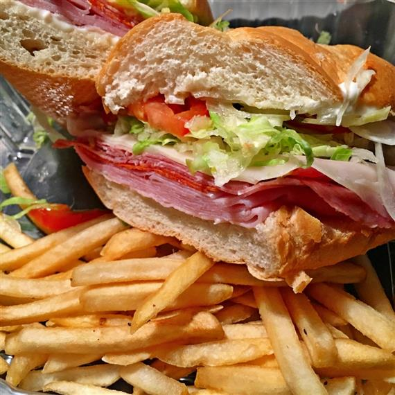 TNT Sub with Fries