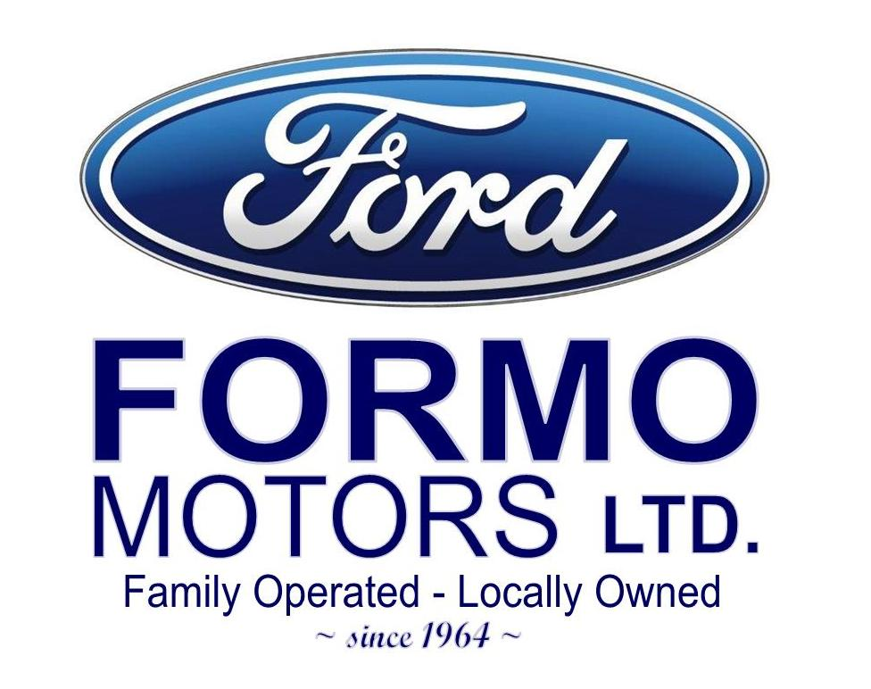 FORD. Formo Motors LTD. Family Operated - locally owned since 1964
