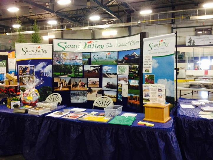 Swan valley promotional table