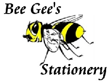 bee's gee's stationery