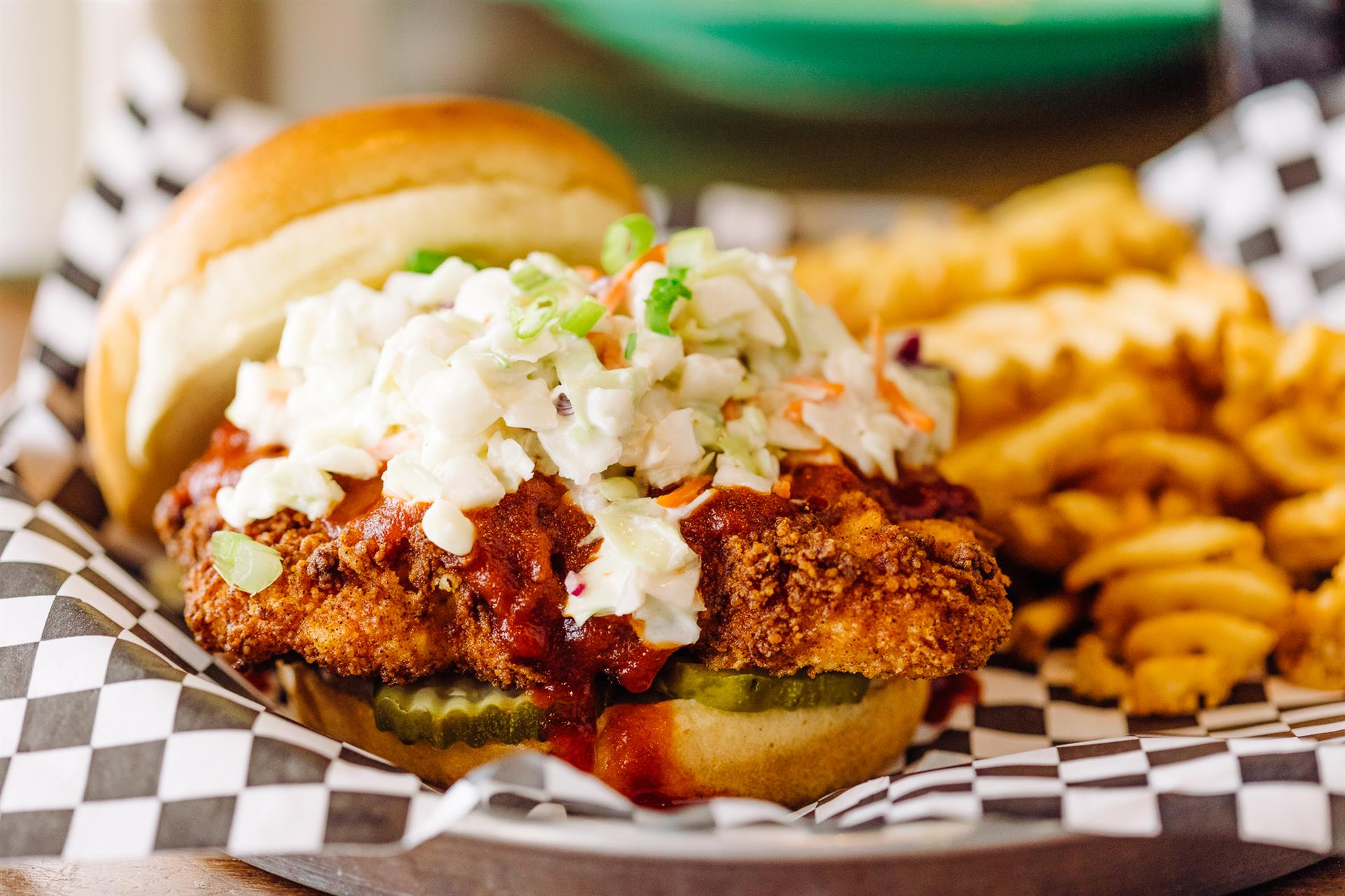 Dixie Fried Chicken Sandwich
