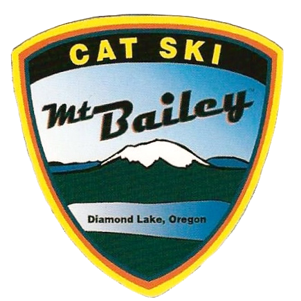 cat ski mt. bailey diamond lake, oregon