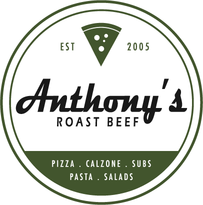 Anthony's Roast Beef. Established 2005. Pizza, calzone, subs, pasta, salads.