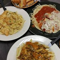 three pasta dishes