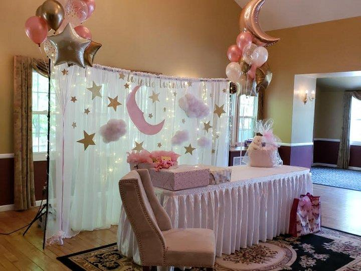 Baby Shower Backdrop