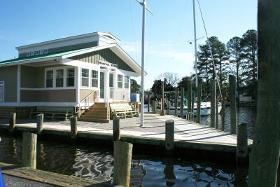 Harbor Master's Office on Wharf