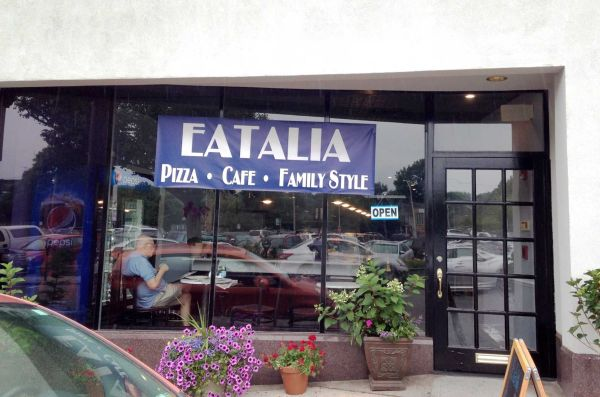 front entrance of eatalia