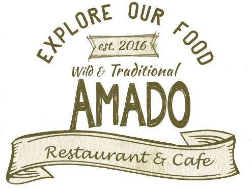 Explore our food. Amado Restaurant and cafe. Wild and traditional. Established 2016.