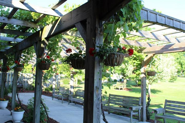 Outdoor photo of the winery