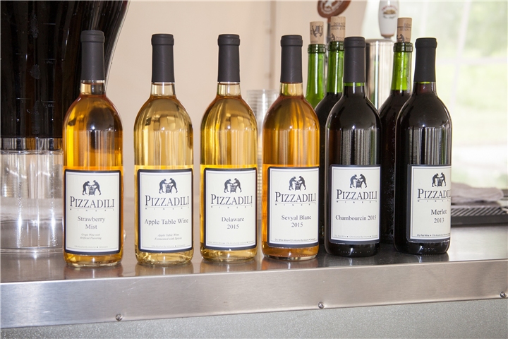 Several bottles of wines