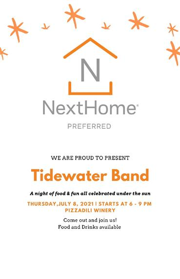 tide water band flyer