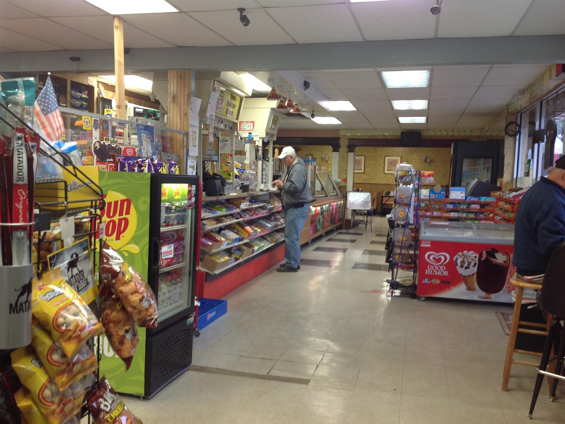 Inside Lee's Quick Stop