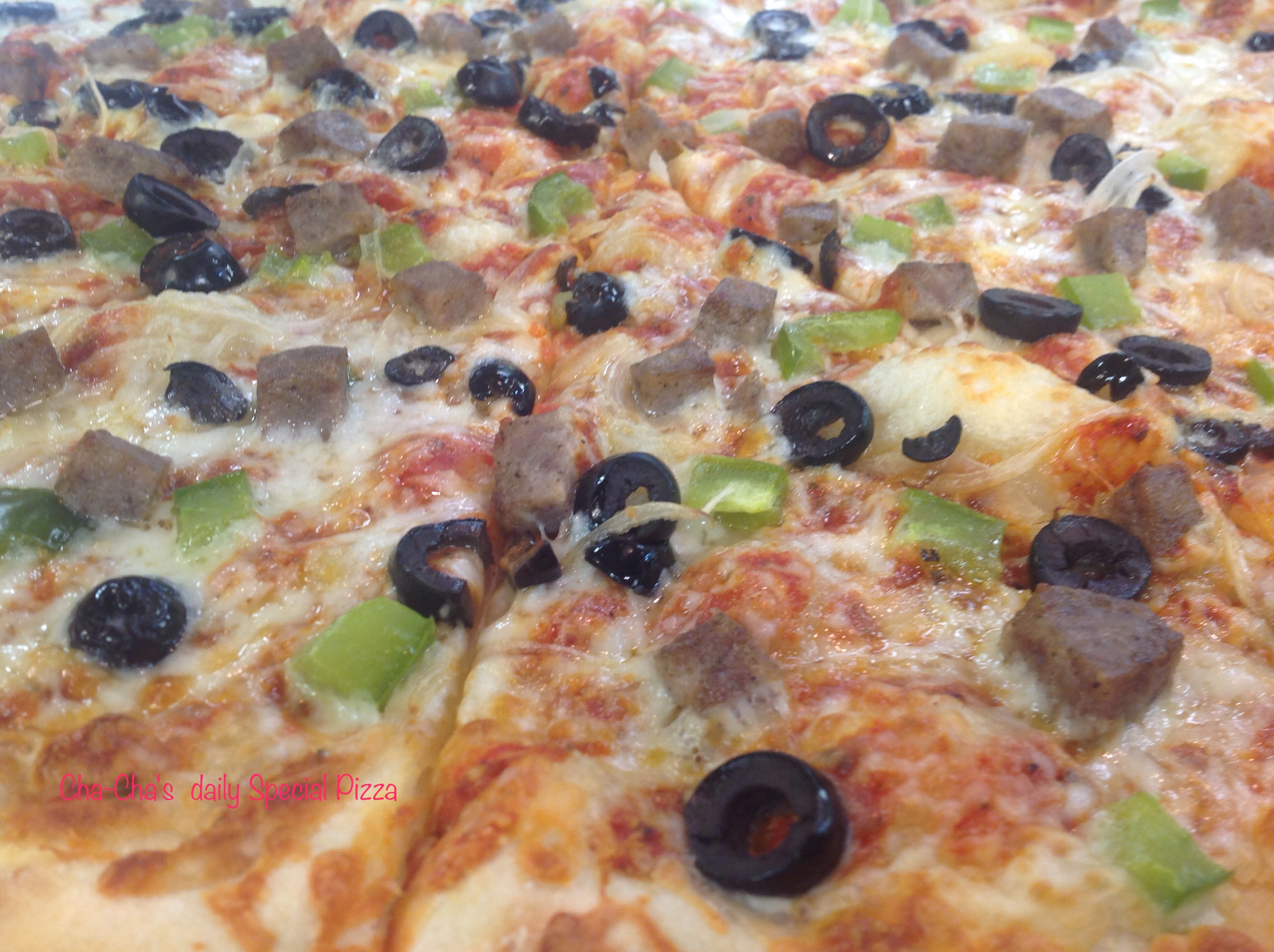 Personalize Pizza by Cha-Cha