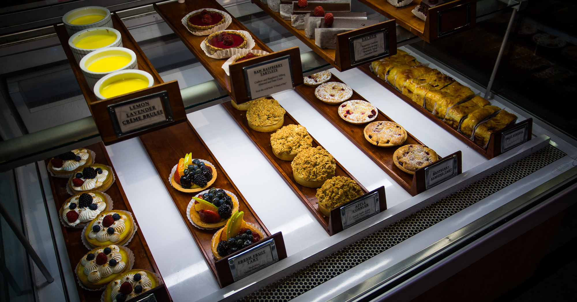 Several pastries