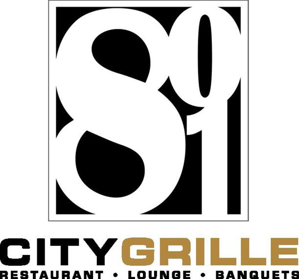 801 City Grille. Restaurant, lounge, banquets.