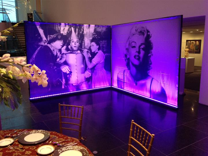 wizard of oz and marilyn monroe movie screen