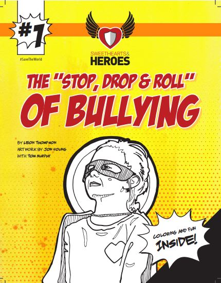 the stop drop an roll of bullying coloring page